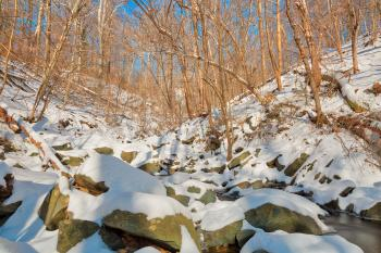 Glen Artney Vinterscape - HDR
