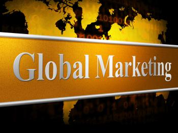 Global Marketing Shows World Sales And Selling