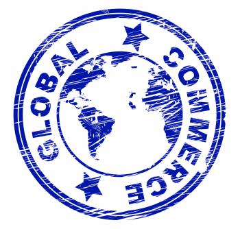 Global Shipping Indicates Globalize Sell And Buying
