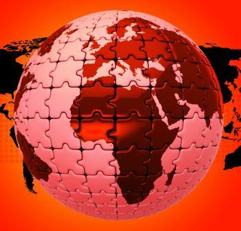 Global Warming Shows Globalise Globalization And World