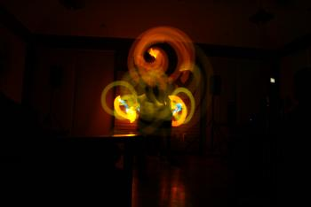 Orange Glowstringing
