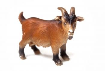 Goat plastic toy for kids