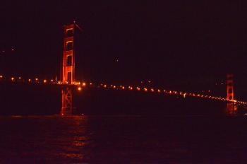 Golden Gate Bridge off of the Torpedo Wharf