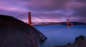 Golden Gate Bridge over Body of Water