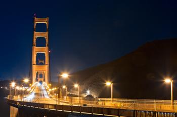 Golden Gate Bridge - Pre-Dawn