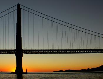 Golden Gate Bridge.San Francisco.