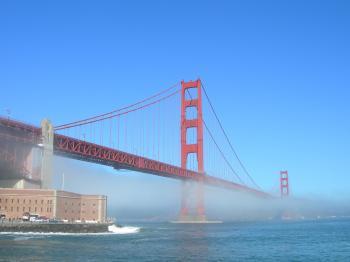Golden Gate Fog Horizontal