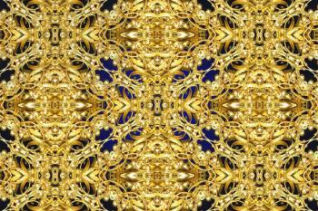 Golden lattice background