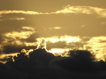 Golden Sunset Skyscape
