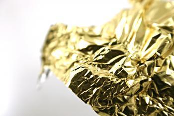 Golden tin foil