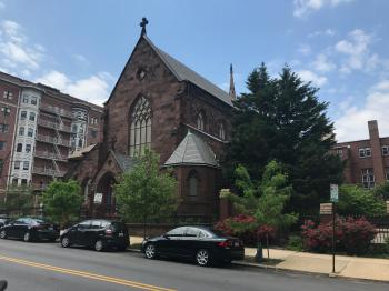Grace & St. Peter's Episcopal Church (1852, J. Crawford Neilson), 707 Park Avenue, Baltimore, MD 21201