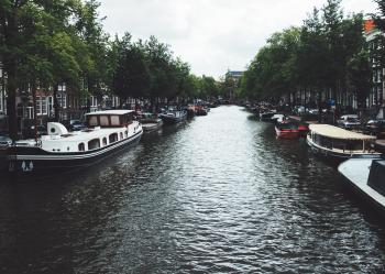 Grand Canal over Gray Sky during Daytime