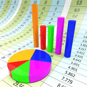 Graph Report Indicates Diagram Charts And Analysis
