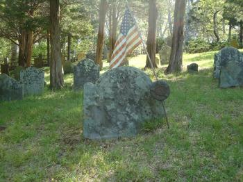 Gravestone Headstone Flag