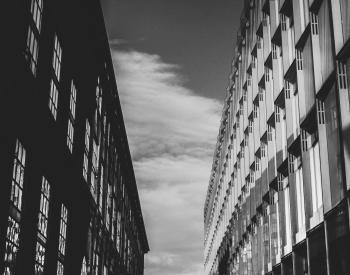 Gray Concrete Building Above Sky