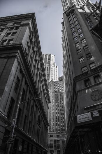 Gray Scale Photography of High Rise Building