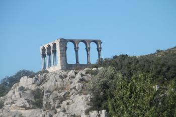Greek coliseum