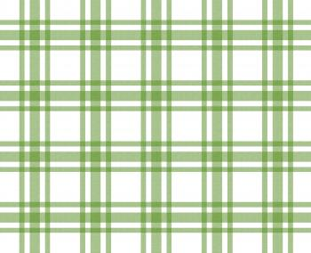 Green and white tablecloth pattern