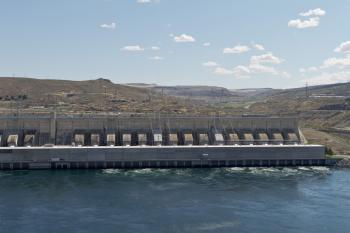 Green Energy - Hydroelectric power station