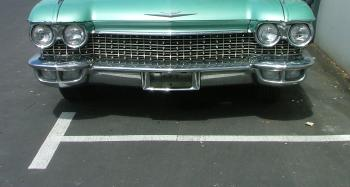 Green Ford Thunderbird