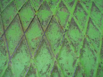 Green metal grid