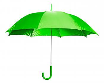 Green Open Umbrella
