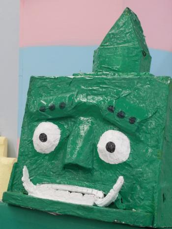 Green Robot Model
