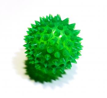 Green spiky ball