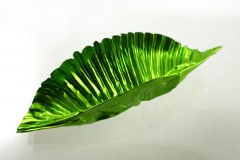 Green tin foil