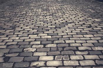 Grey Bricked Flooring