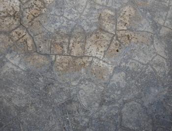 Grey Cracked Concrete Texture