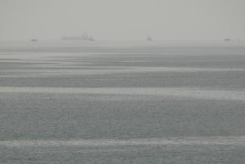 Grey Misty Ocean
