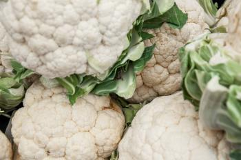 Group of cauliflowers