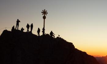 Group of People during Sunset