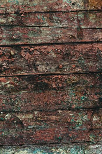 Grunge and Gritty Wood Background