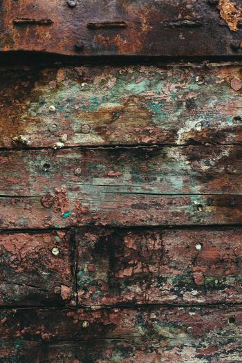 Grunge and Gritty Wood Texture