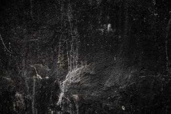 Grunge Black Wall Surface