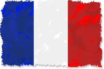 Grunge French Flag
