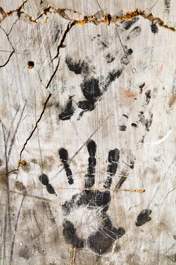 Grunge Wall Imprints - HDR Texture