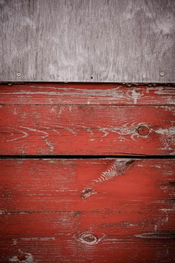 Grungy Red Wood Texture