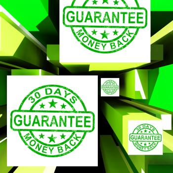 Guarantee On Cubes Shows Certificated Item