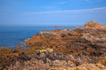 Guernsey Cliffs - HDR
