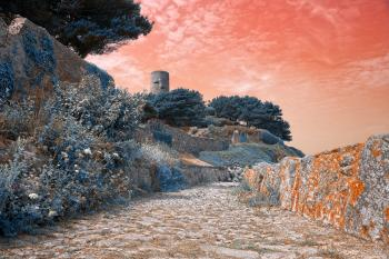 Guernsey Pastel Fantasy - HDR