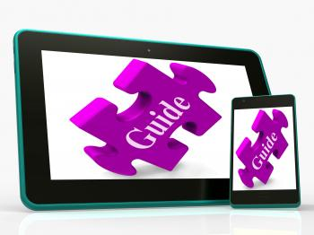 Guide Smartphone Shows Online Instructions And Assistance