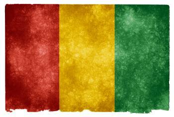 Guinea Grunge Flag