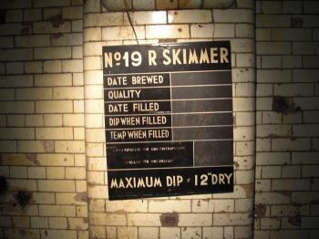 Guinness Skimmer Sign