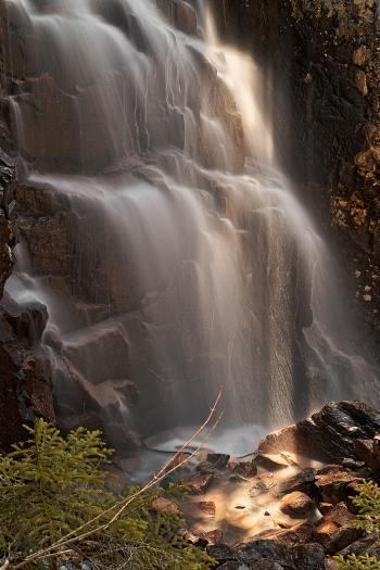 Hadlock Sunbeam Falls - HDR