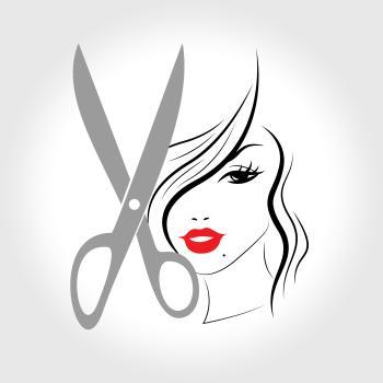 Hair Woman Indicates Haircare Salon And Person