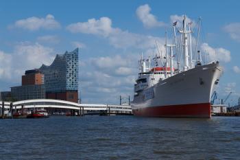 Hamburg Harbour Elbphilamonie