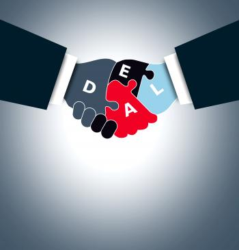 Handshake - Business deal concept